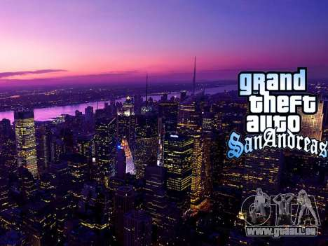 Loadscreens New-York pour GTA San Andreas onzième écran