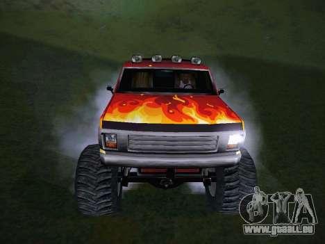 Neue Texturen für Monster (A) für GTA San Andreas Rückansicht