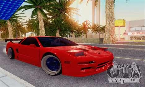 Acura NSX Drift pour GTA San Andreas vue de côté