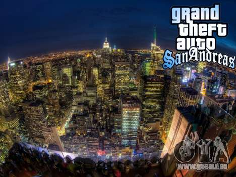 Loadscreens New-York pour GTA San Andreas huitième écran