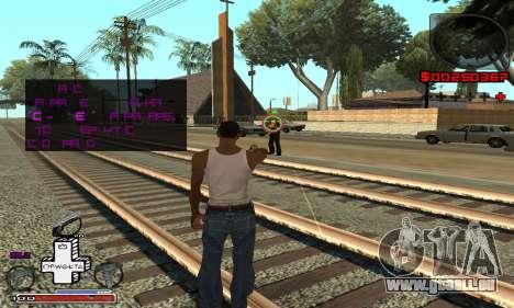 P-HUD OFWGKTA für GTA San Andreas dritten Screenshot