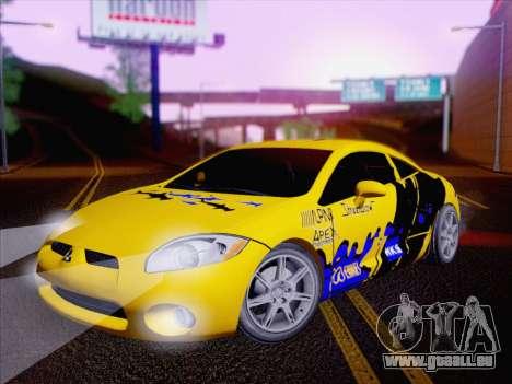Mitsubishi Eclipse v4 für GTA San Andreas Seitenansicht