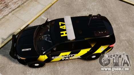 Ford Explorer 2013 Security Patrol [ELS] für GTA 4 rechte Ansicht