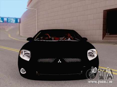 Mitsubishi Eclipse v4 pour GTA San Andreas laissé vue
