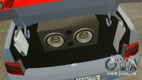 Vaz-2110 pour GTA 4 est une vue de l'intérieur