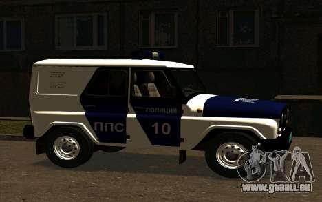 UAZ Hunter-PPP für GTA San Andreas rechten Ansicht