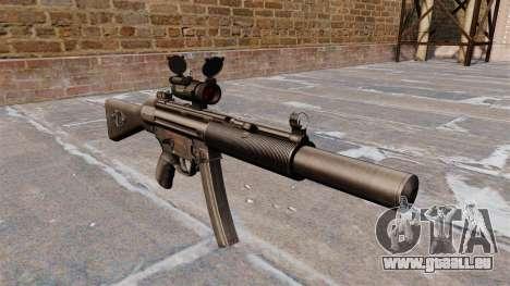 Maschinenpistole HK MP5SD2 für GTA 4