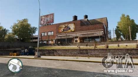 Liberty City Map V Style für GTA 4 Sekunden Bildschirm