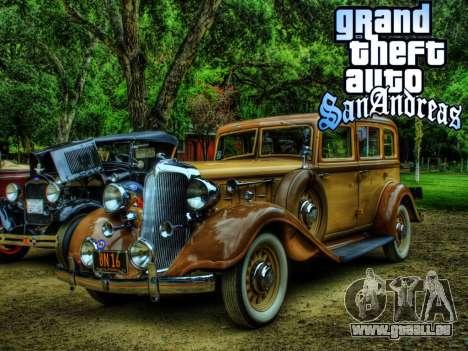 New loadscreen Old Cars für GTA San Andreas neunten Screenshot