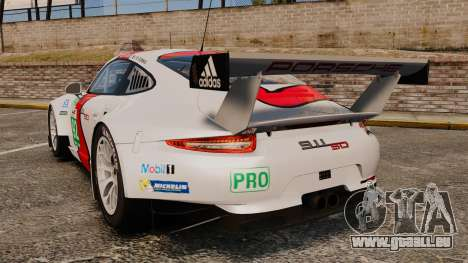 Porsche 911 (991) RSR für GTA 4 hinten links Ansicht