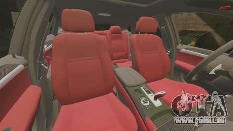 BMW X6 Lancashire Police [ELS] für GTA 4 obere Ansicht