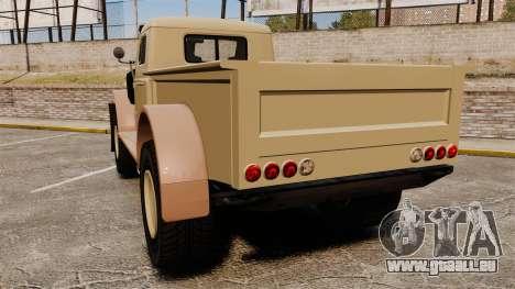 GTA V Bravado Duneloader pour GTA 4 Vue arrière de la gauche