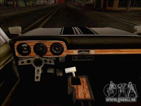 Ford Falcon pour GTA San Andreas sur la vue arrière gauche