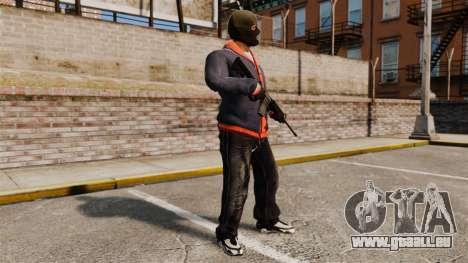 Franklin Clinton v2 für GTA 4 Sekunden Bildschirm