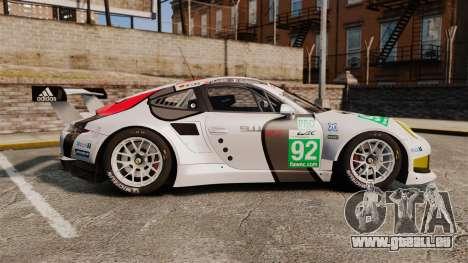 Porsche 911 (991) RSR für GTA 4 linke Ansicht