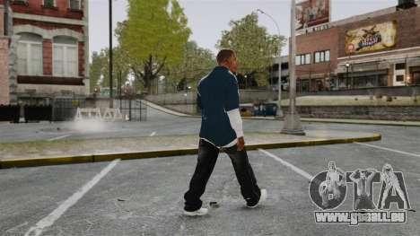 Clinton Franklin für GTA 4 dritte Screenshot