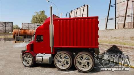 Mini camion pour GTA 4 est une gauche