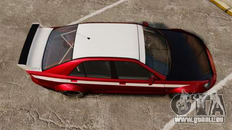 Sultan RS Sedan pour GTA 4 est un droit