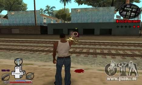 P-HUD OFWGKTA für GTA San Andreas zweiten Screenshot
