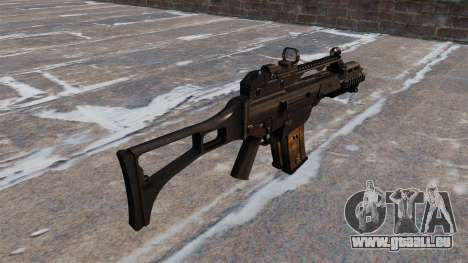 Taktische HK G36C Sturmgewehr für GTA 4 Sekunden Bildschirm