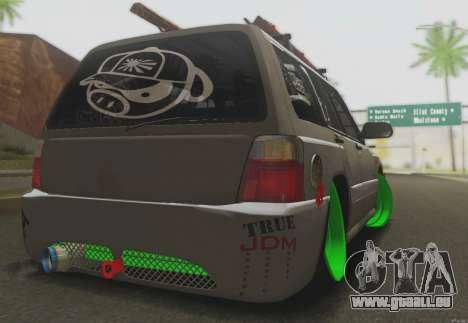 Subaru Forester JDM für GTA San Andreas rechten Ansicht
