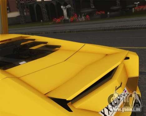 Lamborghini Reventon 2008 SLOD für GTA San Andreas Innenansicht