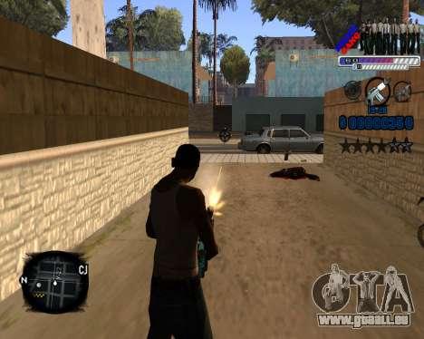 C-HUD Police Gang für GTA San Andreas dritten Screenshot