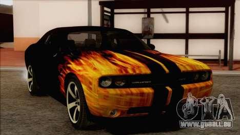 Dodge Challenger SRT8 2012 HEMI pour GTA San Andreas vue de côté