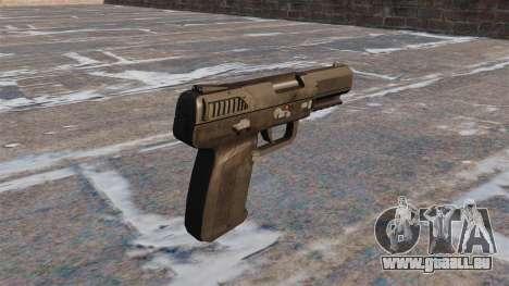 Pistolet Self-loading MW3 FN Five-seveN pour GTA 4 secondes d'écran