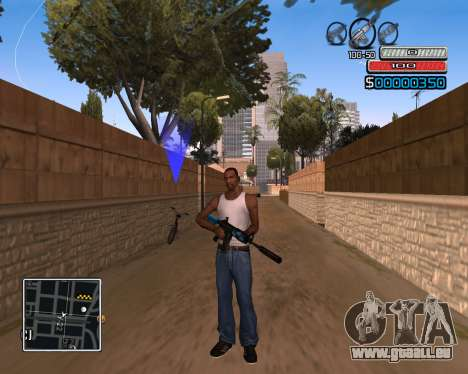 (C) HUD-par Wh_SkyLine pour GTA San Andreas