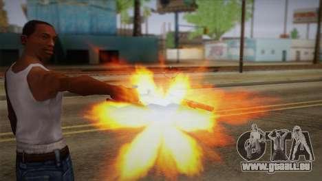 Colt Peacemaker (Rusty) pour GTA San Andreas troisième écran