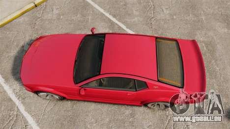 GTA V Vapid Dominator 450cui Supercharged für GTA 4 rechte Ansicht