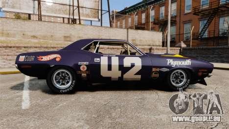 Plymouth Cuda AAR 1970 pour GTA 4 est une gauche