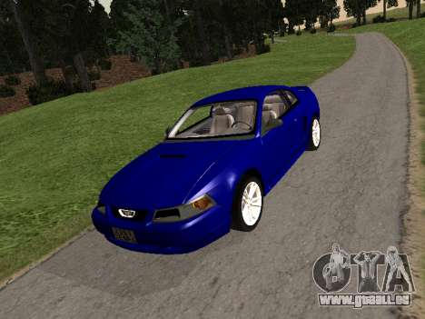 Ford Mustang GT 1999 pour GTA San Andreas