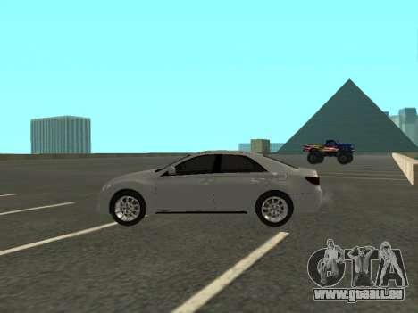 Toyota Mark X pour GTA San Andreas laissé vue