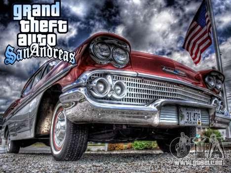 New loadscreen Old Cars für GTA San Andreas her Screenshot