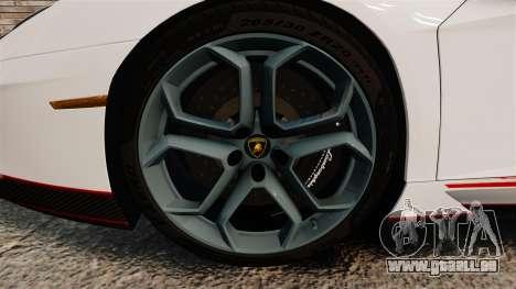 Lamborghini Aventador LP700-4 2012 [EPM] Lamotte pour GTA 4 Vue arrière