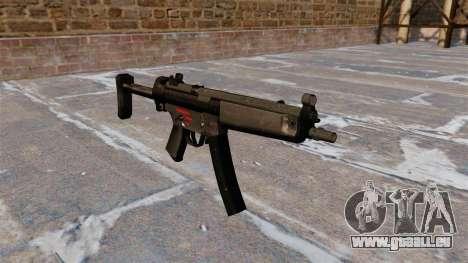 Pistolet mitrailleur HK MR5A3 pour GTA 4