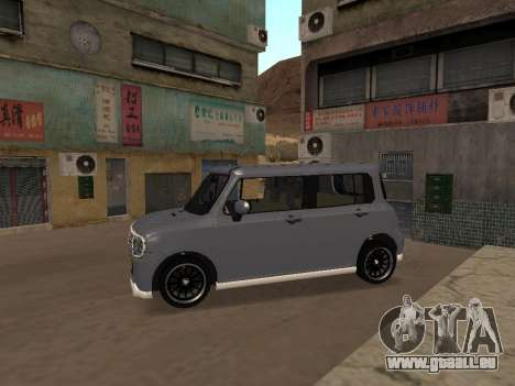 Suzuki Alto Lapin pour GTA San Andreas