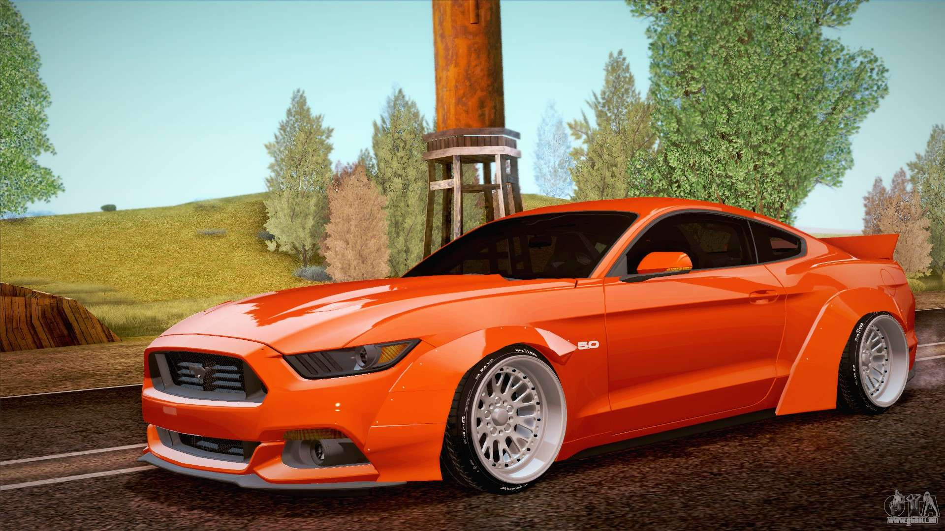 Ford Mustang Rocket Bunny 2015 Pour Gta San Andreas