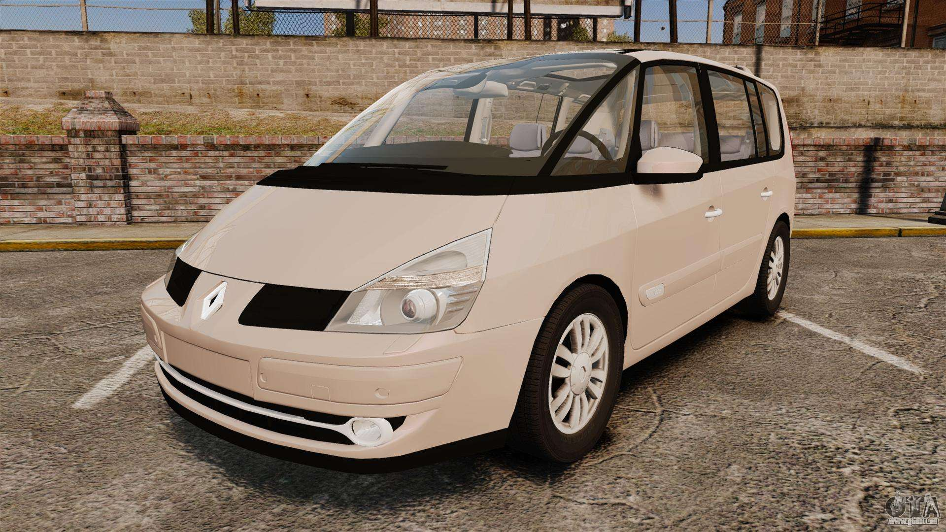 renault espace iv initiale v1 1 pour gta 4. Black Bedroom Furniture Sets. Home Design Ideas