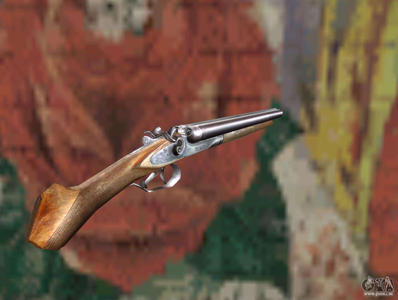 Un fusil canon sci d 39 un harceleur pour gta san andreas - Couleur canon de fusil ...