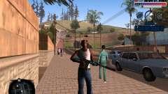 C-HUD Police Gang pour GTA San Andreas
