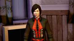 Lady Shiva dans le jeu Batman Arkham origines