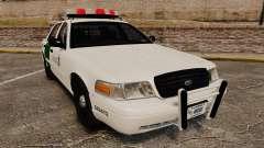 Ford Crown Victoria 1999 U.S. Border Patrol für GTA 4