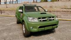 Toyota Hilux Land Forces France [ELS] pour GTA 4