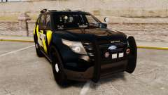 Ford Explorer 2013 Security Patrol [ELS] pour GTA 4