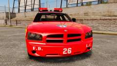 Dodge Charger LCFD Battalion Chief [ELS] für GTA 4