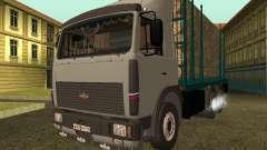 Transporteur de bois 6430 MAZ