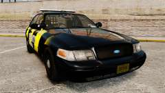 Ford Crown Victoria 2008 Security Patrol [ELS] für GTA 4